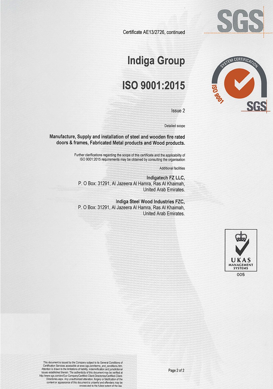 ISO  9001:2015 - (2)